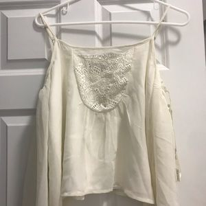 Brand new lovers & friends white blouse